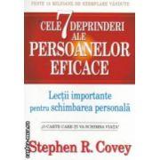 Cele 7 deprinderi ale persoanelor eficace : lectii importante pentru schimbarea personala ( editura : All , autor : Stephen R . Covey ISBN 978-973-724-636-3 )