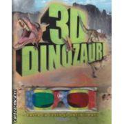 Dinozauri 3D - carte cu teste si abtibilduri ( editura: Girasol, trad. Luana Schidu ISBN 978-606-525-279-0 )