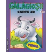Galagiosii - FERMA : carte 3D ( editura : Prichindel , trad . : Mariana Grigore ISBN 978-606-93008-3-1 )