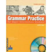 GRAMMAR PRACTICE FOR UPPER INTERMEDIATE STUDENTS WITH KEY + CD - ROM ( editura : Longman , autori : DEBRA POWELL , ELAINE WALKER , STEVE ELSWORTH ISBN 978-1-4058-5300-2 )