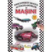 Descopera magia autocolantelor cu MASINI 2 - 4 ani ( editura : Eduard , ISBN 978-606-571-210-2 )