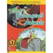 Macmillan children ' s Readers - Endangered Animals : A Safari Adventure - Level 3 ( editura : Macmillan , autor : Alex Raynham ISBN 9780230443686 )