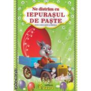 Ne distram cu IEPURASUL DE PASTE - cartea contine puzzle cu abtibilduri ( editura : Eduard , ISBN 978-606-571-211-9 )