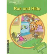 Little Explorers A - Run and Hide ( editura: Macmillan, autor: Gill Budgell ISBN 978-0-230-40485-4 )