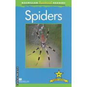 Macmillan factual Readers: Spiders: Level 4+ ( editura: Macmillan, autor: Claire Llewellyn ISBN 978-0-230-43226-0 )