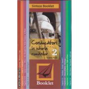 Sinteze Booklet : Conducatori in istoria romanilor 2 ( editura : Booklet , autor : Cristina Pavel ISBN 978-606-590-110-0 )