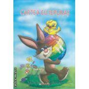 Cartea cu iepuras : carte de colorat ( editura : Maxim Bit , grafica : Mirela Pete , ISBN 978-606-549-127-4 )