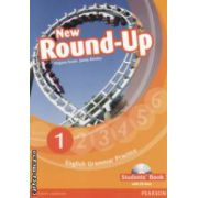 New Round - Up 1 Student ' s book with CD - Rom ( editura Longman , autori :Virginia Evans , Jenny Dooley isbn : 978-1-4082-3490-7 )