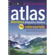 Atlas Romania si Republica Moldova rutier si turistic ( Editura : All , Autor :Constantin Furtuna , ISBN 978-973-724-613-4 )