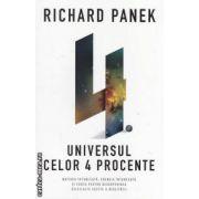 Universul celor 4 procente ( Editura: Curtea Veche, Autor: Richard Panek ISBN 9786065884731 )