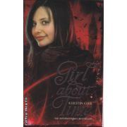 Girl about time ( Editura : Chicken House , Autor : Kerstin Gier , ISBN 978-1-906427-64-1 )