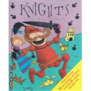 Knights funtime sticker activity book ( Editura : Igloo Books ISBN 9781845616564 )