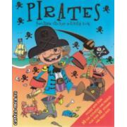Pirates funtime sticker activity book  ( Editura : Igloo Books ISBN 9781845616533 )