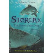 Storlax The power of the deep ( Editura : Meandowside Fiction , Autor : Robert Jackson , Bubbi Morthens ISBN 978-1-84539-422-6 )