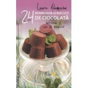 24 de retete bomboane si biscuiti de ciocolata ( Editura Sian Books, Autor: Laura Adamache ISBN 978-606-93205-6-3 )