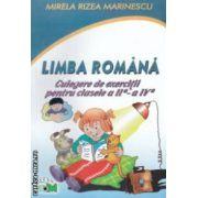 Limba romana culegere de exercitii pentru clasele 2-4 ( Editura: Triom, Autor: Mirela Rizea Marinescu ISBN 978-973-86459-9-8 )