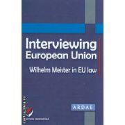 Interviewing European Union ( Editura : Universitara , Autor : Daniel Mihai Sandru , Constantin  Mihai Banu ISBN 978-606-591-651-7)
