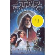 Star Wars A new hope ( Editura: Atom Books, Autor: George Lucas ISBN 1-904233-28-7 )