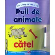 Puii de animale Scrie si sterge ( Editura: Girasol ISBN 978-606-525-374-2 )