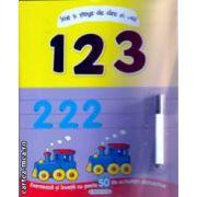 1 2 3 scrie si sterge ( Editura: Girasol ISBN 9786065233735 )