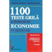 1100 teste grila si probleme de economie cu rezolvari ( Editura: Universitara, Autor: Constantin Gogoneata, Basarab Gogoneata ISBN 978-606-591-691-3 )