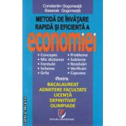 Metoda de invatare rapida si eficienta a economiei ( Editura: Universitara, Autor: Constantin Gogoneata, Basarab Gogoneata ISBN 978-606-591-684-5 )