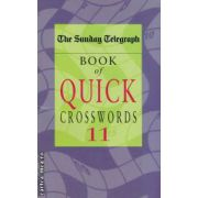 Book of quick crosswords nr 11 ( Editura :Pan Books , ISBN 0-330-43214-1 )