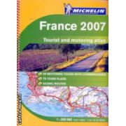France 2007 Tourist and motoring atlas ( Editura : Mchelin , ISBN 978-2-06-712527-8 )