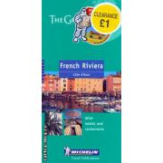 French Riviera Cote d' Azur ( Editura: Michelin, ISBN 2-6-000092-0 )