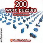 200 word puzzles ( Editura : Dandpublishing , Autor : Phillip Carter ,  Ken Russell ISBN 1-904468-03-9 )