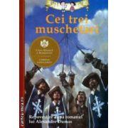 Cei trei muschetari. Repovestire după romanul lui Alexandre Dumas. ( Editura: Curtea Veche, Autor: Alexandre Dumas ISBN 78-606-588-530-1 )