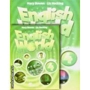PROMOTIE : English World 4 Pupil ' s book + Workbook ( editura : Macmillan , autori : Mary Bowen , Liz Hocking )