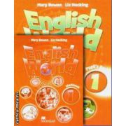 PROMOTIE : English World 1 Pupil ' s book + Workbook ( editura : Macmillan , autori : Mary Bowen , Liz Hocking )