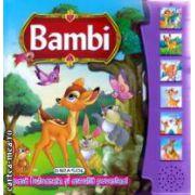 Bambi apasa butoanele si asculta povestea ( Editura: Girasol ISBN 978-606-525-381-0 )