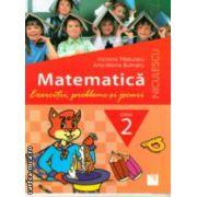Matematica exercitii probleme si jocuri pentru clasa a II a ( Editura: Niculescu, Autor: Victoria Paduraru, Ana-Maria Butnaru ISBN 978-973-748-773-5 )