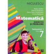 Matematica exercitii si probleme semestrul I clasa a VII a ( Editura: Niculescu, Autor: Rozica Stefan, Valeria Buduianu, Oana-Dana Cioraneanu, Viorica Baibarac ISBN 978-973-748-798-8 )