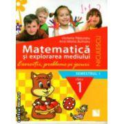 Matematica si explorarea mediului exercitii probleme si jocuri semestrul I clasa I ( Niculescu, Autor: Victoria Paduraru, Ana-Maria Butnaru ISBN 978-973-748-812-1 )