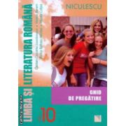 Limba si literatura romana pentru clasa a 11 ghid de pregatire ( Editura : Niculescu , Autor : Cristian Ciocaniu , Viorica Avram ISBN 978-973-748-748-3 )