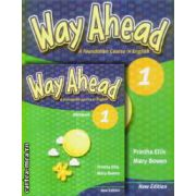 PROMOTIE : Way Ahead 1 Pupil ' s book + Workbook ( editura : Macmillan , autori : Printha Ellis , Mary Bowen )
