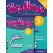 PROMOTIE : Way Ahead 5 Pupil ' s book with CD - ROM + Workbook ( editura : Macmillan , autori : Printha Ellis , Mary Bowen )
