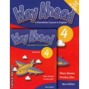PROMOTIE : Way Ahead 4 Pupil ' s book with CD - ROM + Workbook ( editura : Macmillan , autori : Printha Ellis , Mary Bowen )