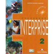 Curs limba engleză Enterprise 2 Manualul elevului ( Editura: Express Publishing, Autor: Virginia Evans, Jenny Dooley ISBN 9781842161050 )