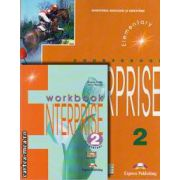 PROMOTIE : Enterprise 2 Elementary Coursebook + Workbook ( editura : Express Publishing , autori : Virginia Evans , Jenny Dooley )