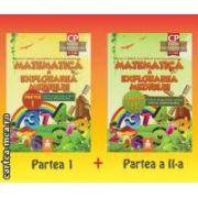 Matematica si explorarea mediului - Clasa pregatitoare: 6 - 7 ani - set: partea I + partea II ( editura: Euristica, autori: Dumitru D. Paraiala, Viorica Paraiala, Cristian - George Paraiala ISBN 978-973-7819-25-3* )