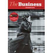 The Business Intermediate Student ' s Book with DVD - Rom, Interactive Workbook Business Dilemmas & Video ( editura: Macmillan, autori: John Allison, Paul Emmerson ISBN 978-1-4050-8369-0 )