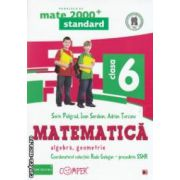 Matematica 2000 standard: Algebra, Geometrie: clasa a VI - a ( editura: Paralela 45, coord. Radu Gologan ISBN 978-973-47-1699-9 )