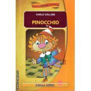 Pinocchio sau Aventurile unei papusi de lemn ( editura : Astro , adaptare dupa Carlo Collodi de Daniela Dumitrescu ISBN 978-606-8148-26-7 )