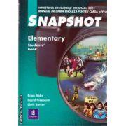 Snapshot Elementary manual pentru clasa a VI-a(editura Longman, autori: BRIAN ABBS, INGRID FREEBAIRN, CHRIS BARKER isbn: 0-582-51194-1)