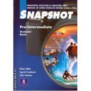 Snapshot Pre-Intermediate manual pentru clasa a VII-a(editura Longman, autori: BRIAN ABBS, INGRID FREEBAIRN, CHRIS BARKER isbn: 0-582-51827-X)