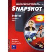 Snapshot Starter manual pentru clasa a V-a(editura Longman, autori: BRIAN ABBS, INGRID FREEBAIRN, CHRIS BARKER isbn: 0-582-51193-3)